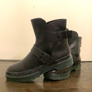 NEW Alexander Wang Moto Boots